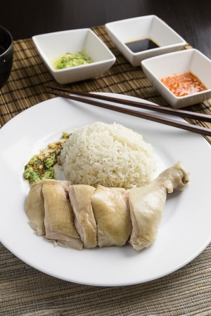 Hainanese Chicken Rice 海南雞飯