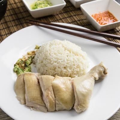 Hainanese Chicken Rice 海南雞飯