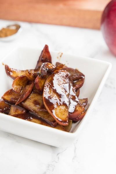 Sweet Cinnamon Apple Slices