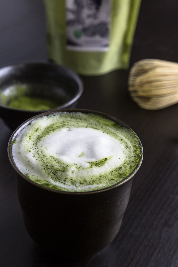 Swap your coffee with this matcha latte recipe! Warming energy booster filled with antioxidants. Smooth matcha with lingering aroma.